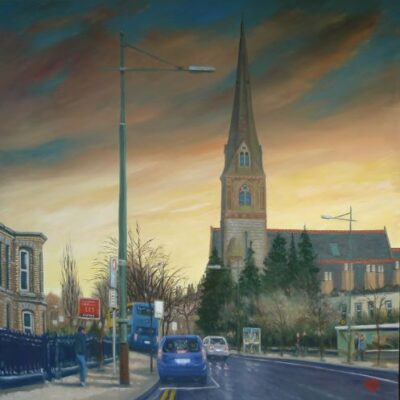 Harrington street, painting