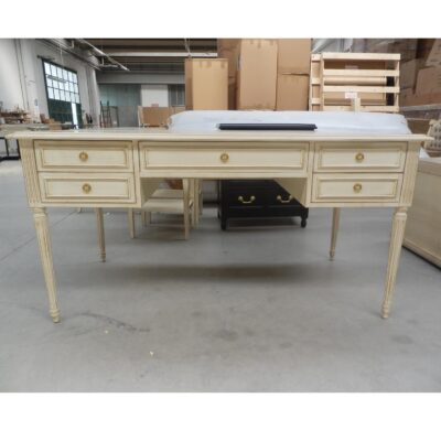 artisan interiors class ic desk hand painted distressed italian